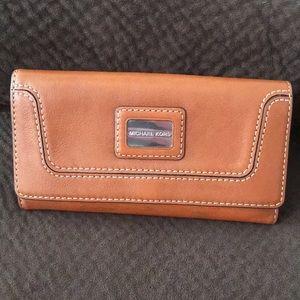 Michael Kors Brookville Leather Wallet